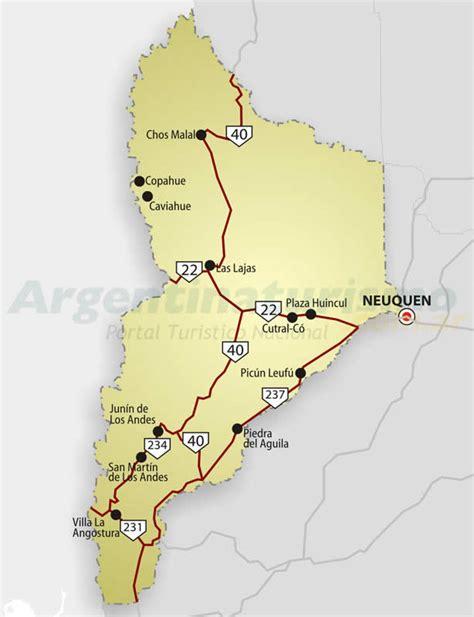 imagenes satelitales de neuquen mapas de neuquen rutas y accesos argentina como llegar