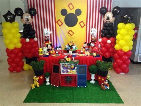 fiesta tema mickey mouse dale detalles