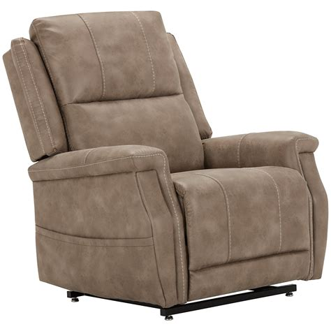 Microfiber Recliners On Sale City Furniture Jude Dk Taupe Microfiber Power Lift Recliner