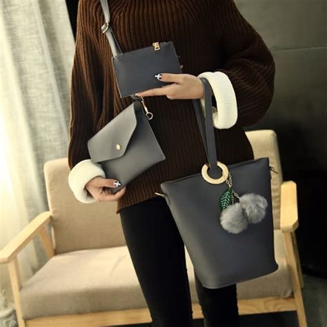 Cs 3362 3in1 Tas Import Tas Fashion Tas Korea Tas Batam Tas Murah jual b2758 gray tas fashion set 3in1 grosirimpor