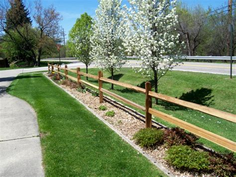 front yard split rail fence pinterest front yards yards and fences
