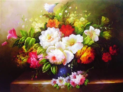 paintings of flowers flowers oil paintings oil painting pinterest
