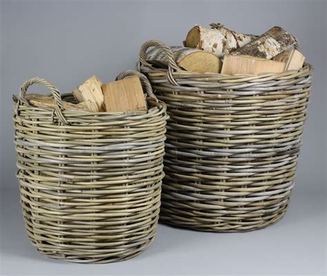 baskets for wicker rattan baskets for firewood