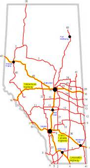 highway map of alberta canada 2500x1400 population comparison us equivalents of