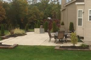 concrete patio installation st louis truecrete