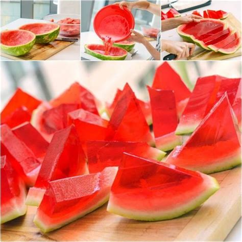 how to make watermelon jello shots how to instructions