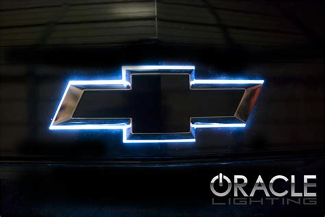 chevy bowtie colors chevy illuminated led rear bowtie the color shift