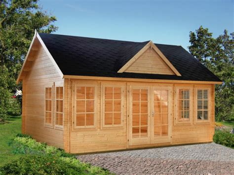 cabin kits lakeview prefab wooden cabin kit allwood cabin kit