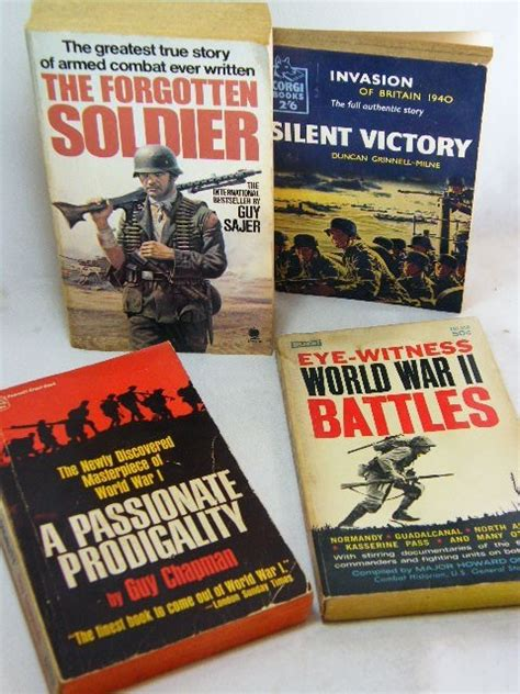 the unfavorable war my story books books lot of 4 non fiction war story books was sold for