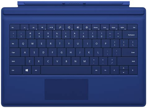 windows surface type cover microsoft type cover blue italian qwerty keyboard for