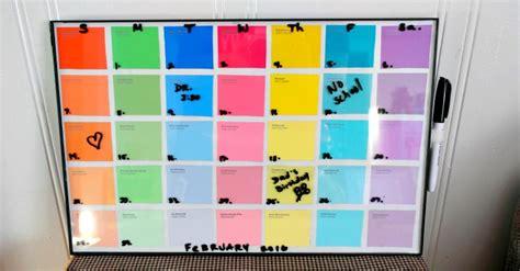 Diy Erase Calendar Diy Paint Sle Erase Calendar