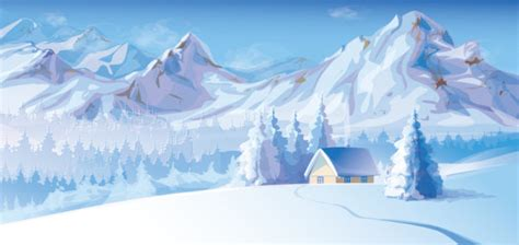 winter background 7 free vector graphic download