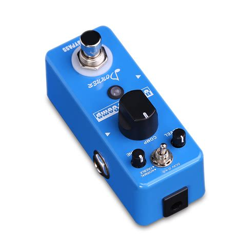 Guitar Pedal donner new compressor pedal ultimate comp guitar effect