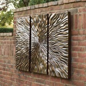 Outside Wall Decor by Outdoor Decor Wall Room Ornament