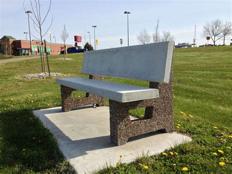 concrete park bench the fagenstrom co concrete picnic tables and benches