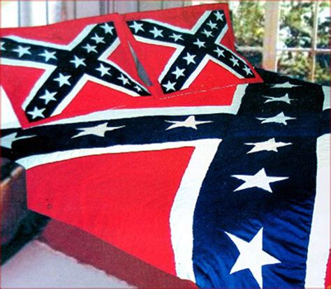 confederate flag bed set ruffin rebel flag quilt comforter civil war stuff