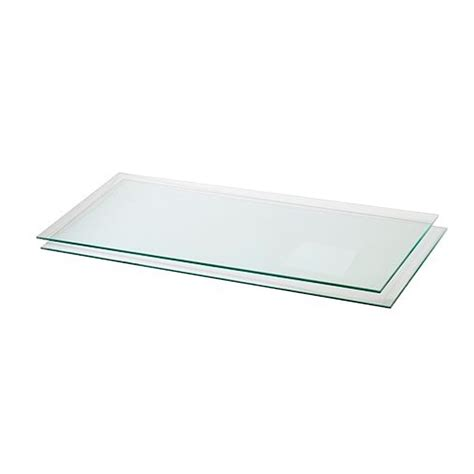 16 Glass Shelf by 14 Quot D X 30 Quot W Tempered Glass Shelves 3 16 Quot Thick 5 Pieces