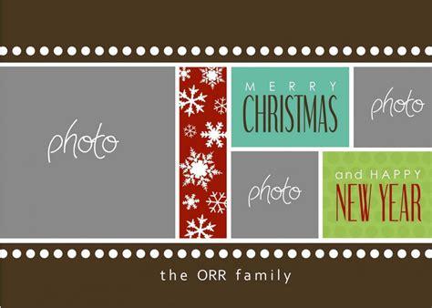 Photoshop Christmas Card Templates Template Business Photoshop Card Templates