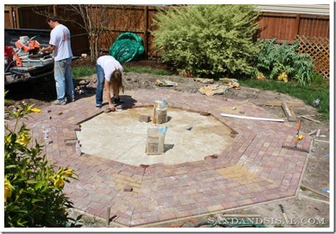 laying a patio tackling home improvement projects in 2015