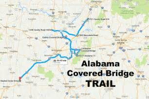 the ultimate alabama covered bridge trail