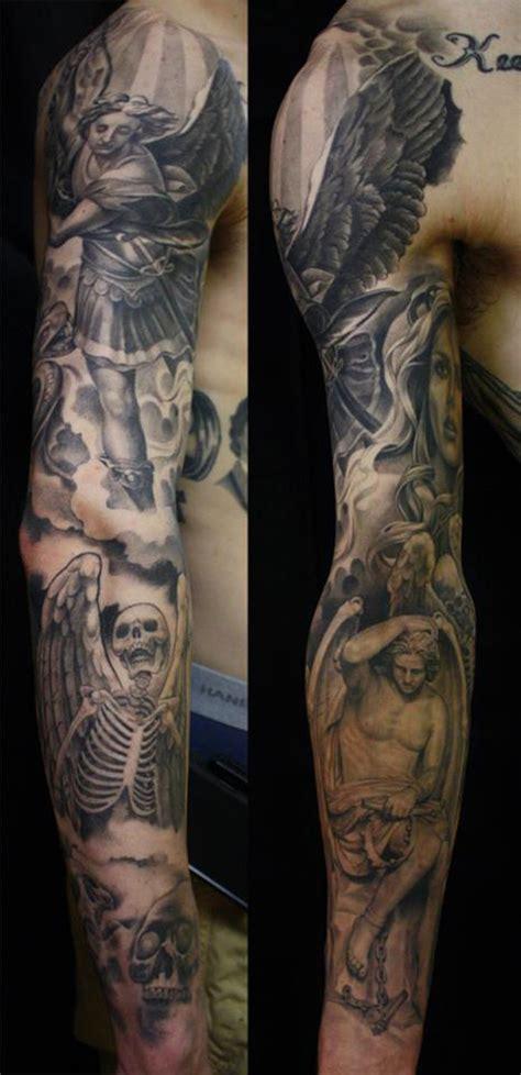 full sleeve tattoos black and grey designs full sleeve tattoos on pinterest japanese sleeve tattoos