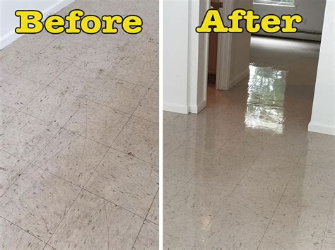 how to strip and wax a floor with pictures wikihow before after vct strip wax in new paltz ny the