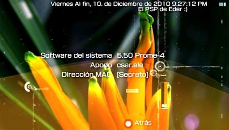 custom firmware 550 prometheus 4 psp youtube parche custom firmware 5 50 prometheus psp scenebeta com