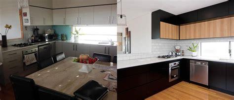 caesarstone white attica dulux domino black kitchen design