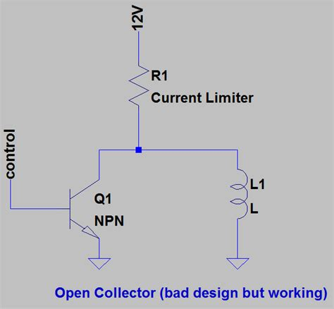 pull up resistor open collector electronic make it easy open collector and open drain circuit