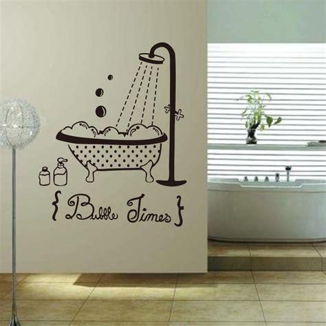 autocollant pour baignoire sticker porte salle de bain