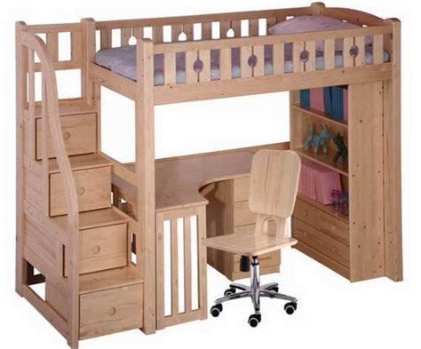 loft bed with desk and drawers loft bed with steps bunk beds with stairs for tweens bing