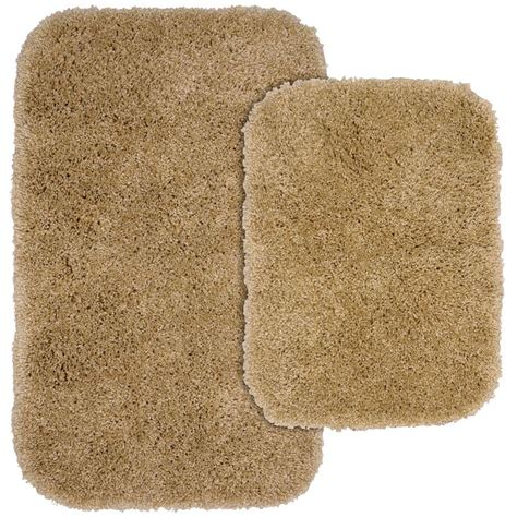 taupe bathroom rugs garland rug serendipity taupe 21 in x 34 in washable