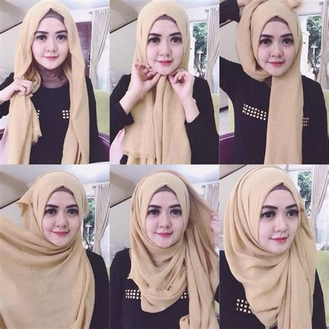 tutorial hijab pashmina zaskia sungkar simple learn new easy to do hijab styles hijabiworld