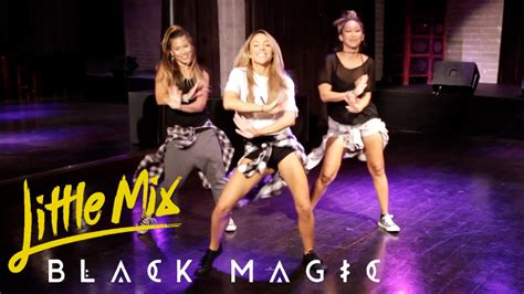 tutorial dance little mix little mix black magic dance tutorial chor 233 graphie