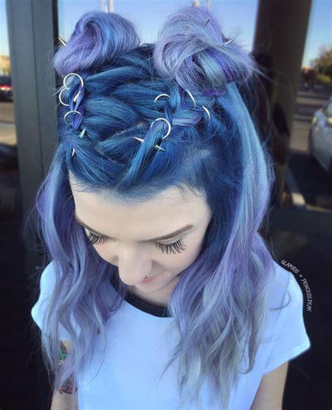 silver blue hair on pinterest lemon hair highlights the 25 best ideas about blue hair on pinterest dark