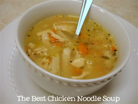easy chicken noodle soup recipes dishmaps