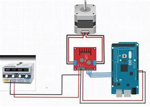 how to control a nema 17 stepper motor with an arduino