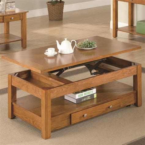 Lift Top Coffee Table With Storage Bukit Lift Top Storage Coffee Table