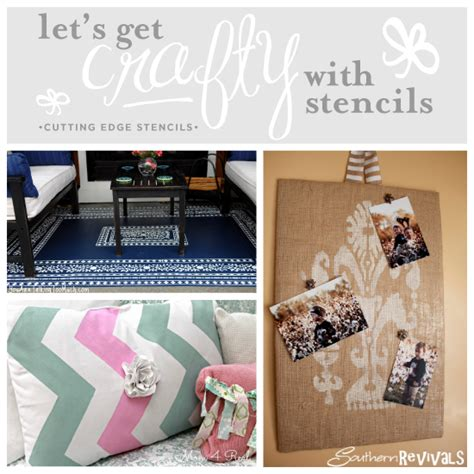 diy home giveaway let s get crafty with stencils stencil stories stencil