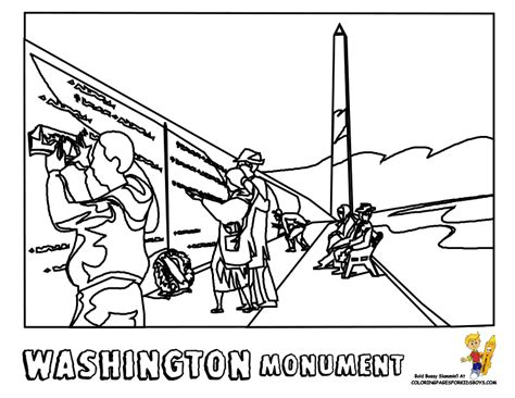 washington coloring pages free coloring pages of washington outline