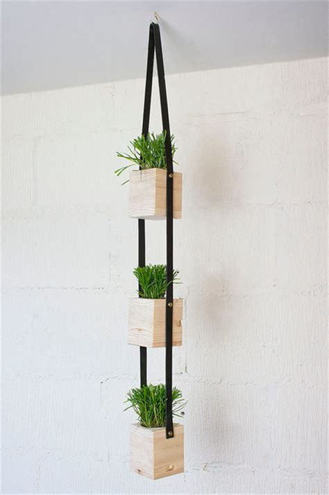 hanging wall planters hanging wall planter contemporary indoor pots and
