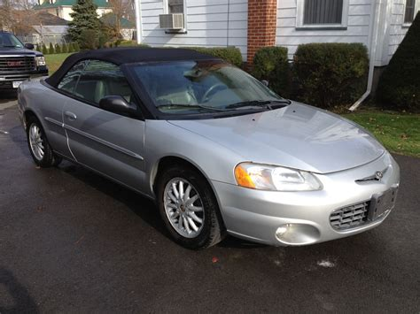 Chrysler Sebring 2001 Convertible by 2001 Chrysler Sebring Pictures Cargurus