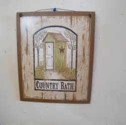rustic bathroom wall decor 9x11 primitive country bath rustic bathroom green outhouse