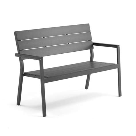 bench products online modern park bench black aintwood black frame aj