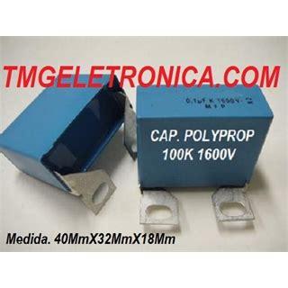 capacitor 1uf nao polarizado capacitor poliester 100k 1600v