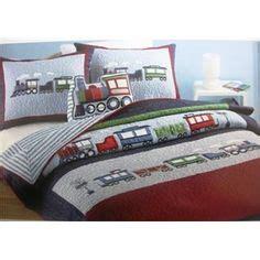 authentic kids bedding train bedding on pinterest