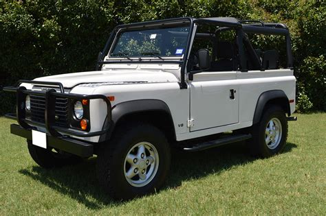 land rover monterey russo and pristine land rover defender 90 is a