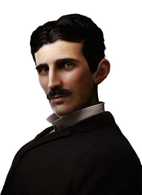 Nickola Tesla Nikola Tesla Master Of Lightning Tribute By Aziz Natour
