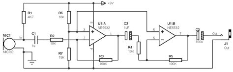 electret microphone lifier circuit also electret microphone lifier electret mic schematic get free image about wiring diagram