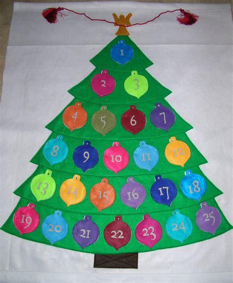 Felt Advent Calendar Felt Advent Calendar Allfreeholidaycrafts